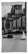 Thames Sailing Bath Towel