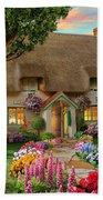 Thatched Cottage Hand Towel