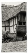 Thatched Watermill 3  Bath Towel