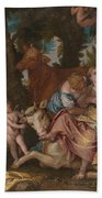 The Abduction Of Europa Bath Towel
