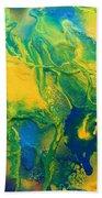 The Abstract Earth Bath Sheet