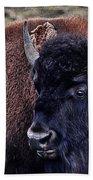 The American Bison Bath Towel