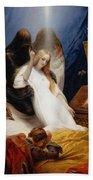 The Angel Of Death Bath Towel