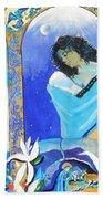 The Annunciation Bath Towel