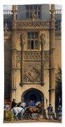 The Arch, Montacute House, Somerset Bath Towel