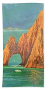 The Arch Of Cabo San Lucas 2 Bath Towel