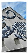 The Artist Roa At Work  Hand Towel