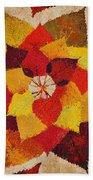 The Artistry Of Fall Klimt Homage Bath Towel