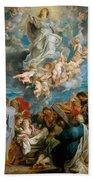 The Assumption Of The Virgin Bath Towel