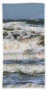 The Atlantic Ocean At Sullivan's Island Bath Towel