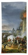 The Attack And Taking Of Ratisbon, 23rd April 1809, 1810 Oil On Canvas Bath Towel