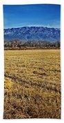 The Bale - Sandia Mountains - Albuquerque Bath Towel