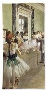 The Ballet Class Bath Towel