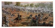 The Battle Of Gettysburg, July 1st-3rd Hand Towel