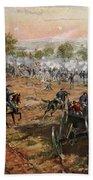 The Battle Of Gettysburg, July 1st-3rd Bath Towel