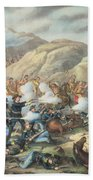 The Battle Of Little Big Horn, June 25th 1876 Bath Towel