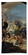 The Battle Of Vercellae Bath Towel