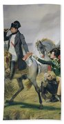 The Battle Of Wagram, 6th July 1809, 1836 Oil On Canvas Bath Towel
