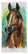 The Bay Arabian Horse 2 Bath Towel