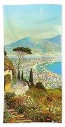 The Bay Of Naples Bath Towel