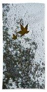 The Beauty Of Autumn Rains - A Vertical View Bath Towel