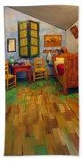 The Bedroom Of Van Gogh At Arles Bath Towel
