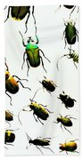 The Beetles Bath Towel
