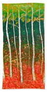 The Birches Hand Towel