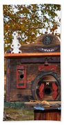 The Birdhouse Kingdom - Red-naped Sapsucker Bath Towel