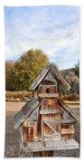 The Birdhouse Kingdom - The American Dipper Bath Towel
