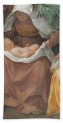The Birth Of The Virgin Bath Towel