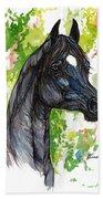 The Black Horse 1 Bath Towel