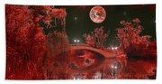 The Blood Moon Bath Towel