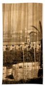 The Bloody Island Xviii Century Navy Hospital In Menorca Miniaturized Bath Towel