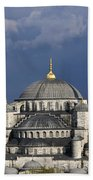 The Blue Mosque In Istanbul Hand Towel