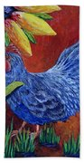 The Blue Rooster Bath Towel