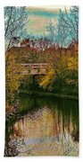 The Bridge Between Heaven And Earth Bath Towel