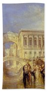 The Bridge Of Sighs Bath Towel
