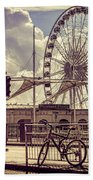 The Brighton Wheel Bath Towel