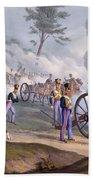 The British Royal Horse Artillery - Bath Towel