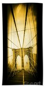 The Brooklyn Bridge New York Bath Towel