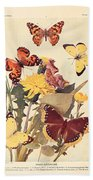 The Butterfly Book Bath Towel