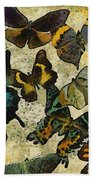 The Butterfly Collection #1 Bath Towel