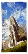 The Cathedral Of Learning 1 Bath Towel