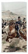 The Charge Of The Light Brigade, 1895 Bath Towel
