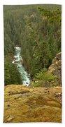 The Cheakamus River Gorge Bath Towel