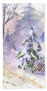 The Christmas Tree Bath Towel