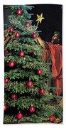 The Christmas Tree Of The Horatii Bath Towel