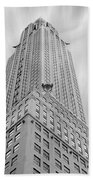 The Chrysler Building Bath Towel