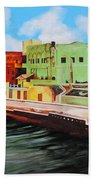 The City Of Matanzas In Cuba Bath Towel